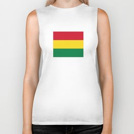 Flag of bolivia-bolivian,spanish,america,south america,latin america,coffee,Santa cruz,Sucre,La paz Biker Tank