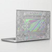 door Laptop & iPad Skins featuring Door by Horus Vacui