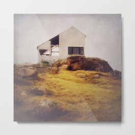 Once Upon a Time an Abandoned House Metal Print