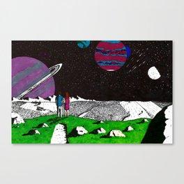 Jumping Universes Canvas Print