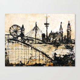 Hamburg abstract Canvas Print