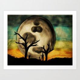 Moon Field Art Print