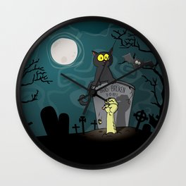 Hans Bruken Wall Clock
