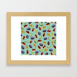 Damson Jam Framed Art Print