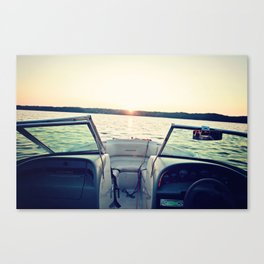 I'm on a Boat Canvas Print