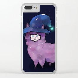 Witch Alpaca Clear iPhone Case