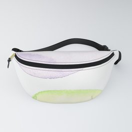 1510101 Watercolor Abstract Orbit 9 Fanny Pack