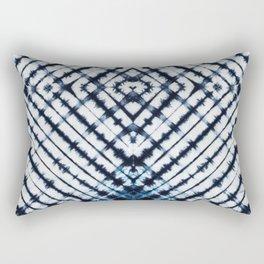 Diamonds Indigo Rectangular Pillow