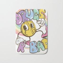 drugs r bad Bath Mat