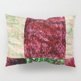 Patchwork color gradient and texture 2 Pillow Sham