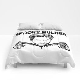 Spooky Mulder Trust no One Comforters