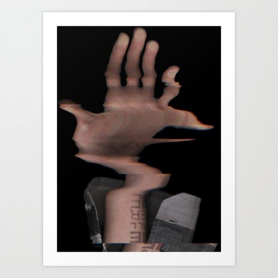 Hands On #2 (Series) Art Print