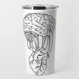 Mind and spirit connection Travel Mug