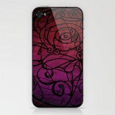 Scarred Rose iPhone & iPod Skin