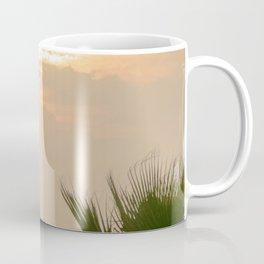 cloudy sky in the oasis Coffee Mug
