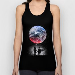 Beautiful Earth Unisex Tank Top