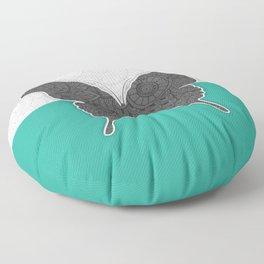 Dance of a Butterfly Floor Pillow