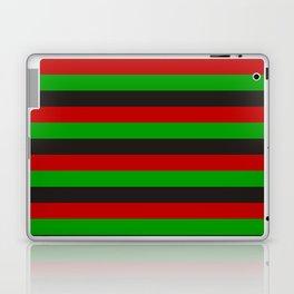afghanistan flag stripes Laptop & iPad Skin
