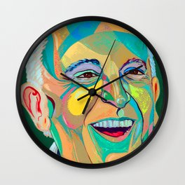 Francis Pope Smile Wall Clock