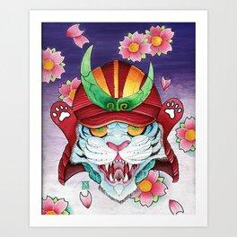 Tora! Art Print