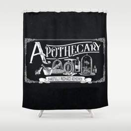 Carefully Prepared Remedies Shower Curtain