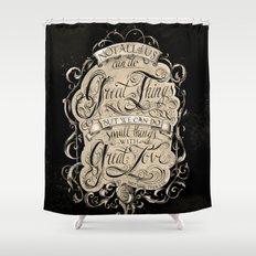 Great Love Shower Curtain