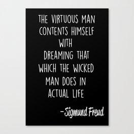 Freud _4 Canvas Print
