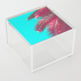 Neon Palm Acrylic Box