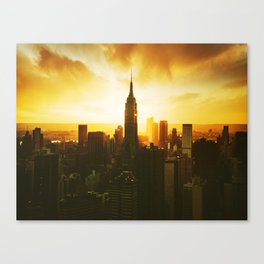 new york city landmark Canvas Print