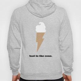 Ice Cream Lightning Bolt - Bad to the Bone Hoody