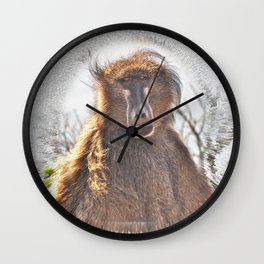 Golden Ancestor Dad Wall Clock