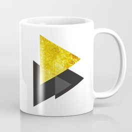 Metal triangle abstract - Metal sign - The Five Elements Coffee Mug