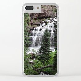 Cascading Clear iPhone Case