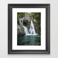 Bash Bish Falls Framed Art Print