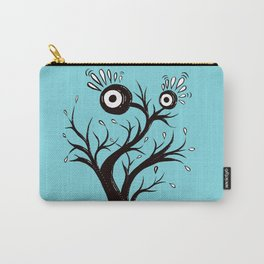 Excited Tree Monster Ink Drawing Carry-All Pouch