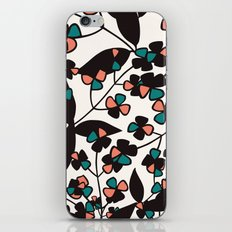 Tangled spring branches and flowers iPhone & iPod Skin