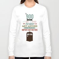 doctor who Long Sleeve T-shirts featuring Doctor Who by Ashley