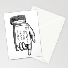 The people who give a shit... Stationery Cards