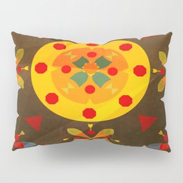 Oskar I: Brown Pillow Sham