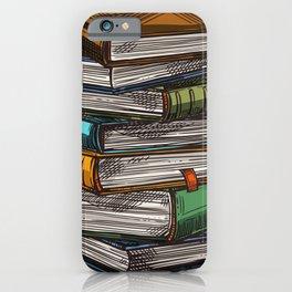 Magic Book Piles iPhone Case