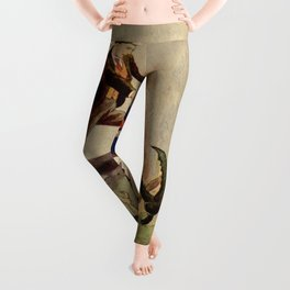 Giant crabs attack Leggings