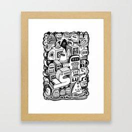 l'Arche Framed Art Print