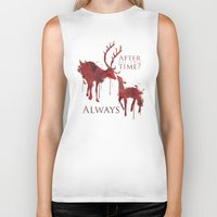 snape Biker Tanks featuring Always by Rose's Creation