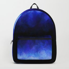 Blue Light Beam Backpack