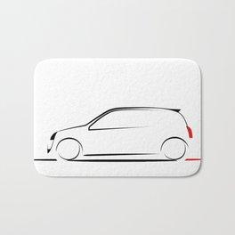 Clio silhouette Bath Mat