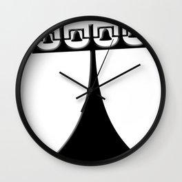 campanile - landmark of Brasilia city Wall Clock