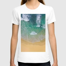 Ocean from the sky T-shirt