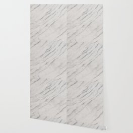 Marble Silver Glitter Glam #1 #shiny #gem #decor #art #society6 Wallpaper