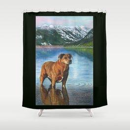 Mala Shower Curtain