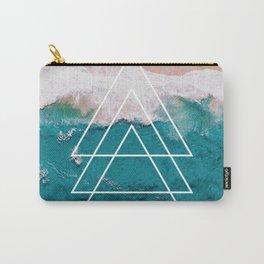 Beach Arrow / Geometric Carry-All Pouch